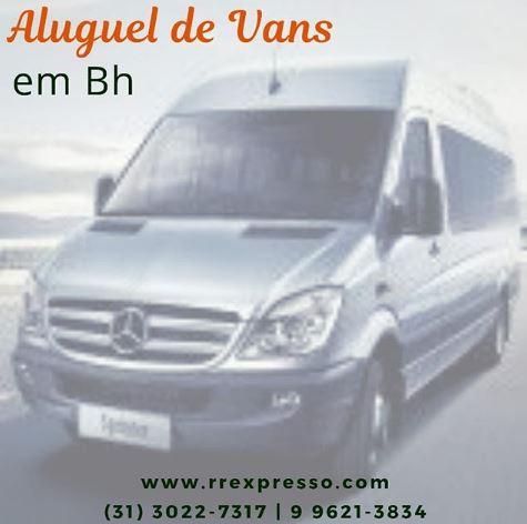 Aluguel de Vans no bairro Gutierrez – Locação de Van no Gutierrez